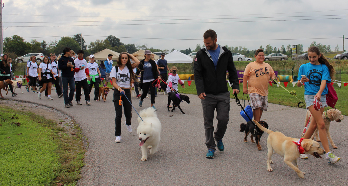 2017 Friends for Life! Walk™ at the Ontario SPCA Orillia Animal Centre