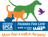 Ontario SPCA Friends for Life Walk-a-thon!
