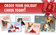 Holiday Cards Newshound Ad