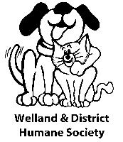 Welland HS with words logo