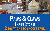 Paws & Claws Thrift Store